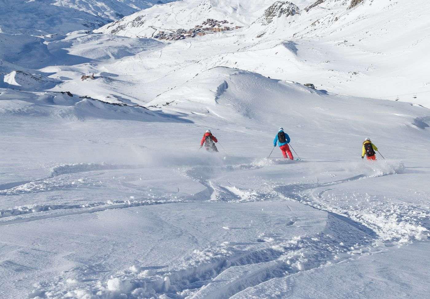 Alpes franceses en el Puente de diciembre: ¡Garantía de nieve!