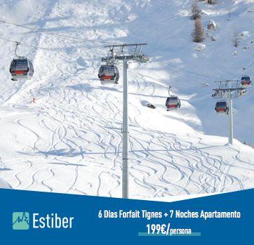 Ofertas esquiar verano
