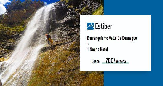Barranquismo en Huesca - Benasque