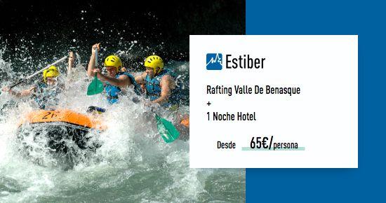 Rafting en río Esera