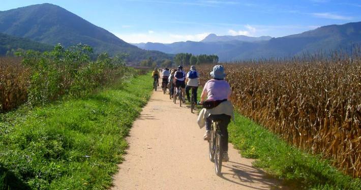 Ruta del Carrilet, Vía verde Girona