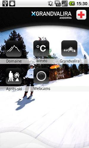 App Grandvalira: Aplicación móvil esquí Grandvalira