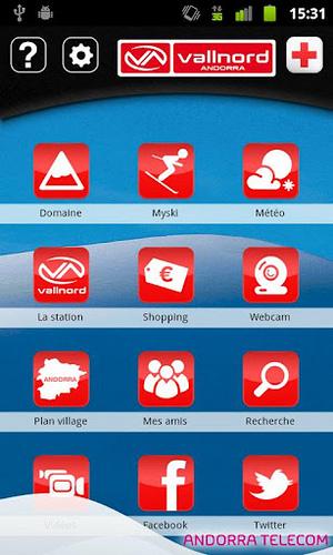 App Vallnord: Aplicación móvil esquí Vallnord
