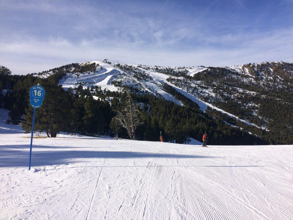 Vallnord pistas esquí