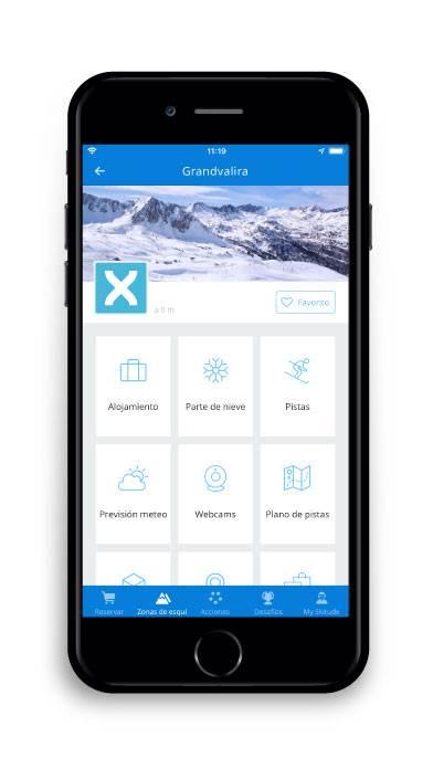 App Estiber: Estación esquí Grandvalira