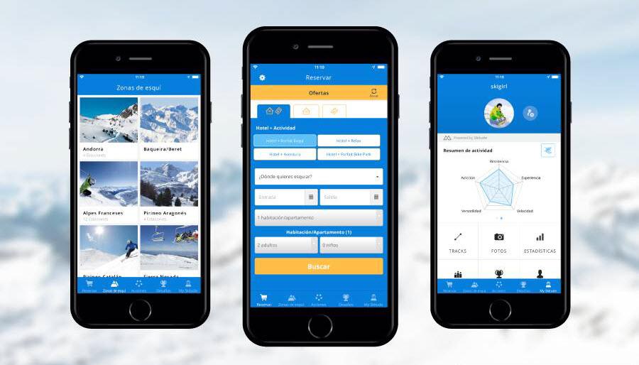 App Estiber: Aplicación ofertas esquí