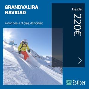 Ofertas esquí Grandvalira Navidad