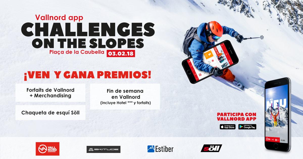 Estiber Viajes en Challenges on the slopes