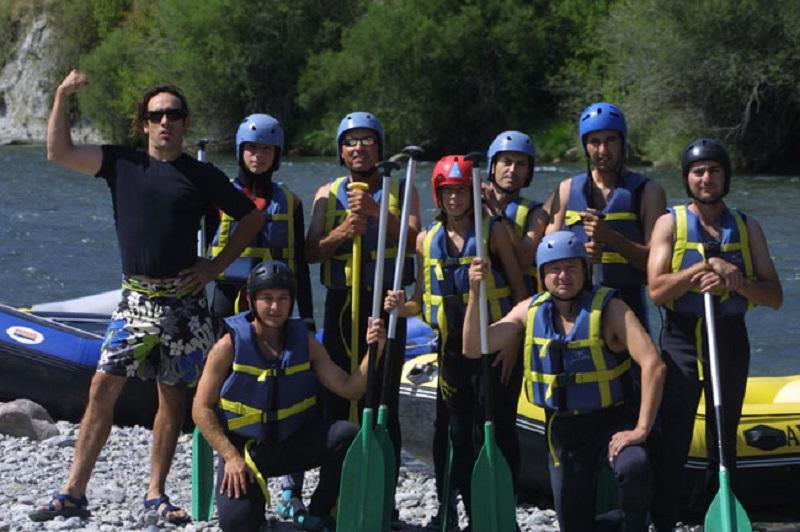 Dónde hacer rafting en Aragón