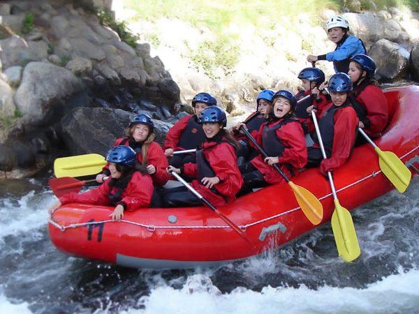 Rafting parc olímpic del Segre