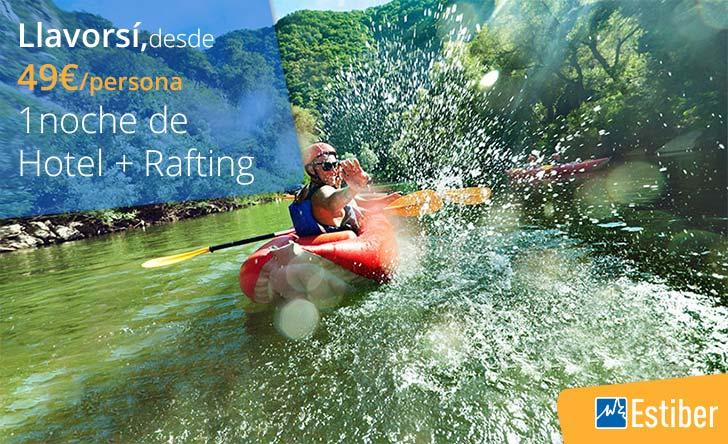Oferta rafting Estiber