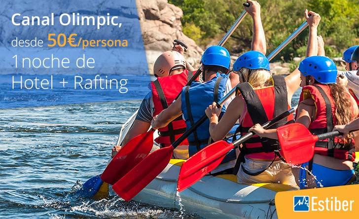 Ofertas rafting Parc Olímpic del Segre