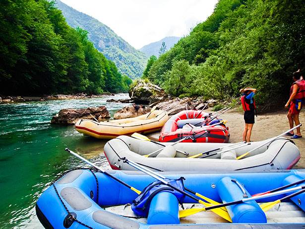 Consejos básicos rafting