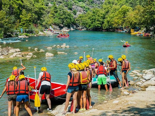Qué es el rafting