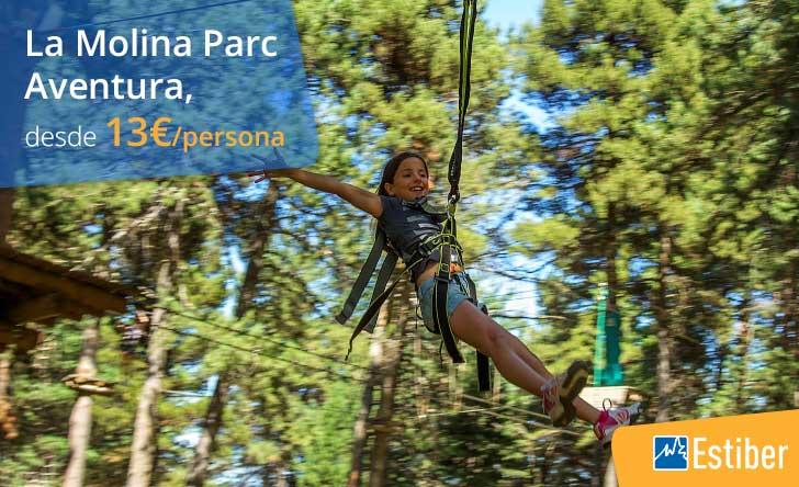 Ofertas parque aventura niños
