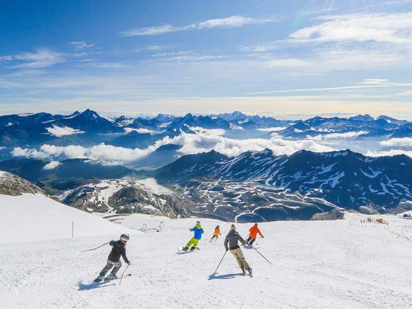 Donde esquiar