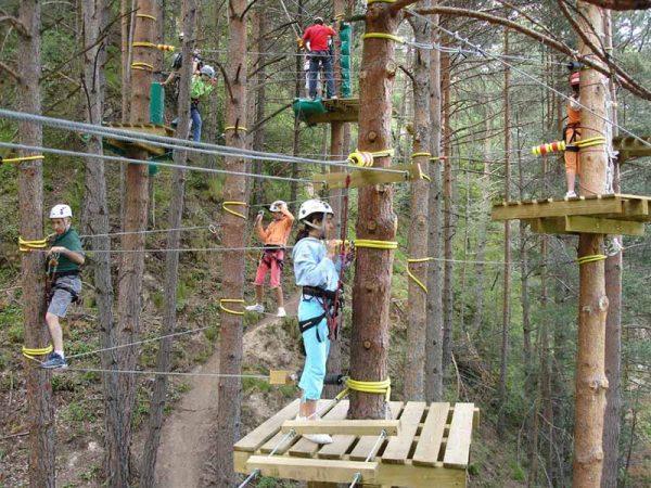 Parques de aventuras para niños