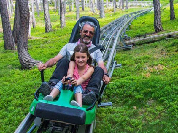 Tobotronc Andorra Naturlandia: Parque de aventuras