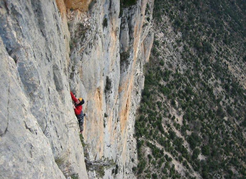 Actividades en Mont Rebei: Escalada