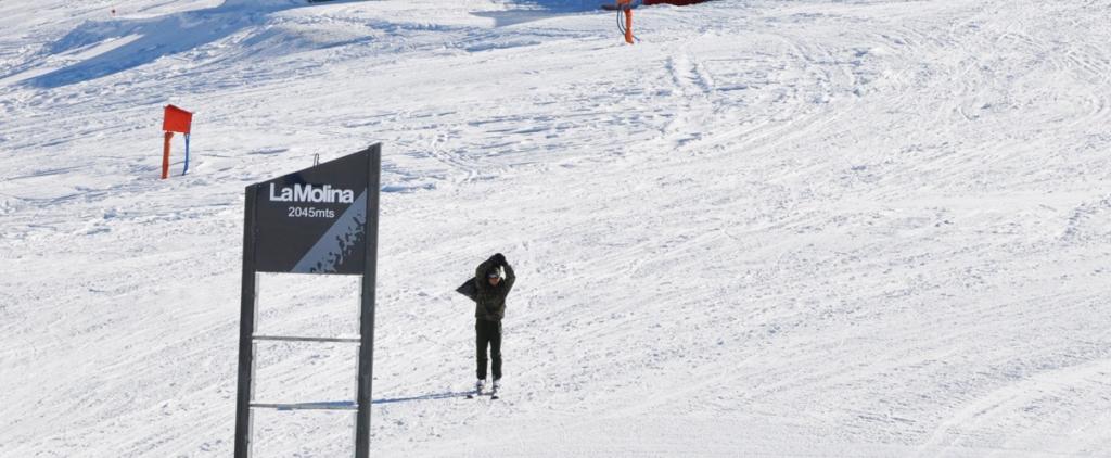 La Molina, estación de esquí de la Cerdanya (Pirineo catalán)
