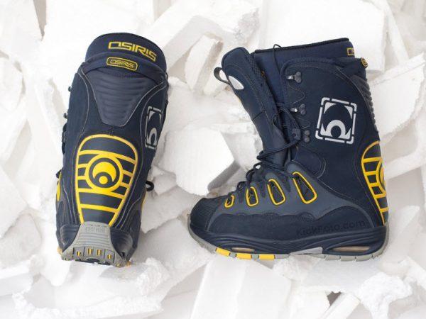 como elegir botas de snowboard
