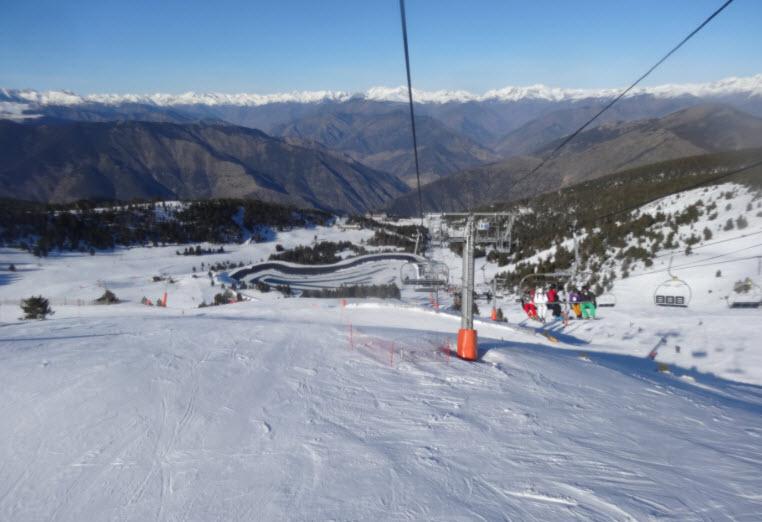 espot esqui port aine estaciones debutantes