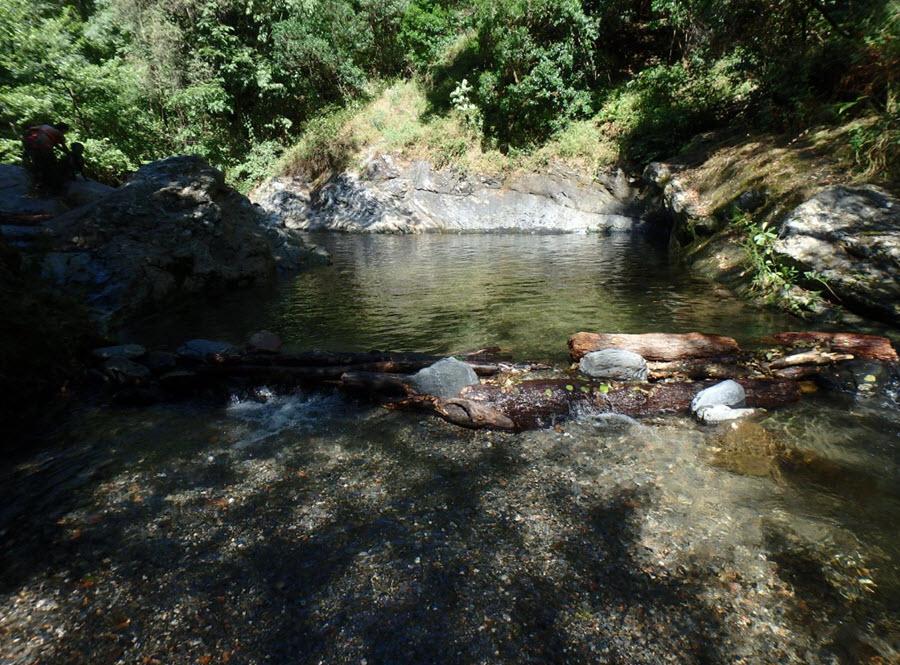 Gorgs y Piscinas del Montseny: La Riera de Sant Marçal