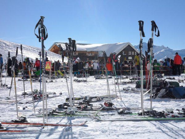 Como elegir bastones de esqui