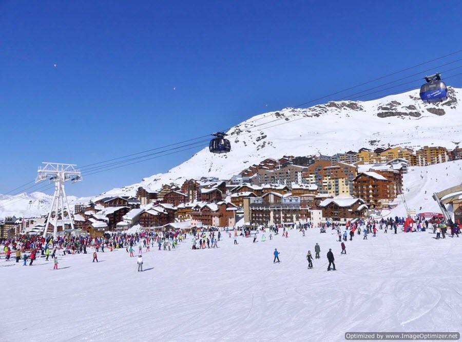 Novedades en Les 3 Vallées, el area de esquí más grande del mundo