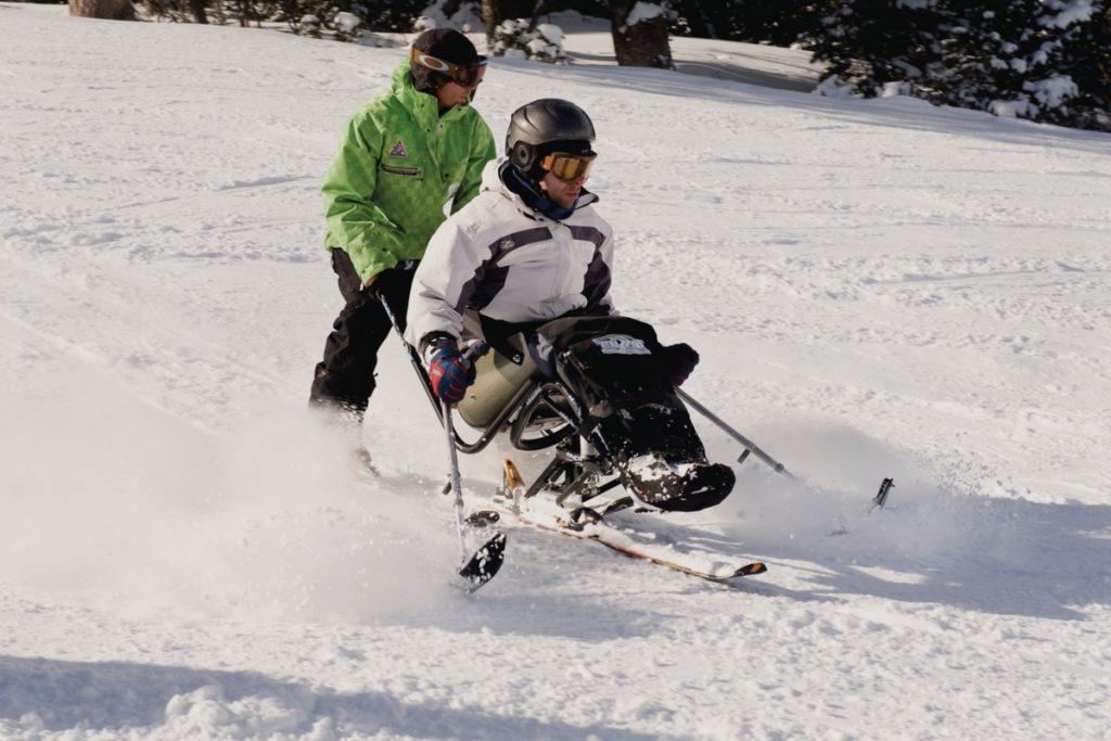 modalidad esqui adaptado