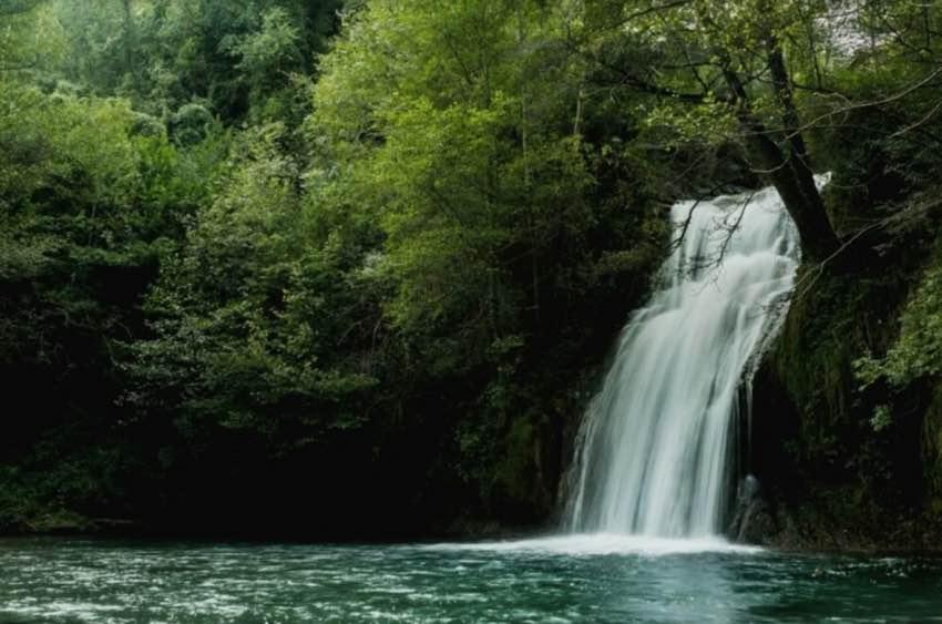 Las mejores piscinas naturales, el Gorg de Malatosca, en Sant Joan de les Abadesses