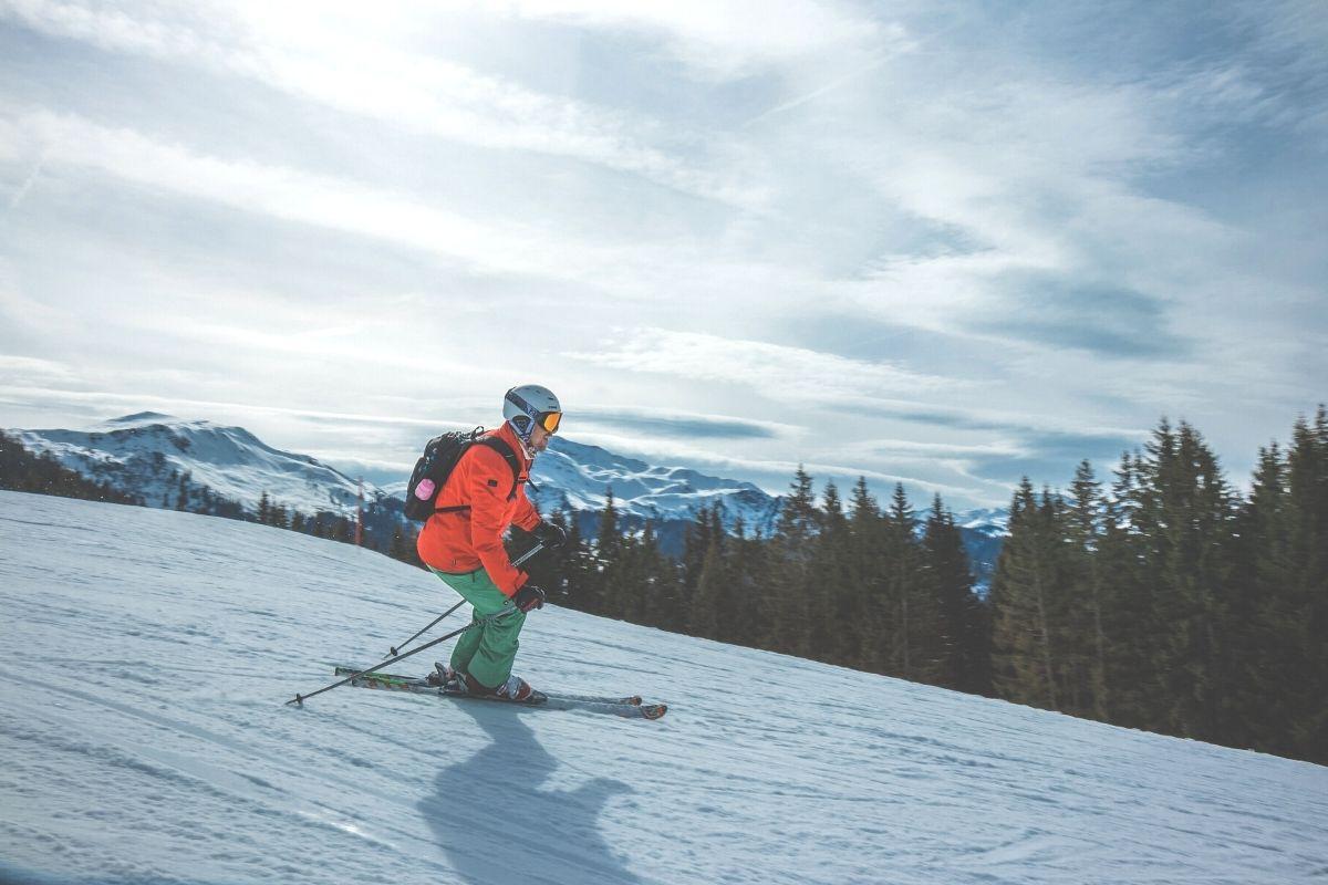técnica de esquí para principante