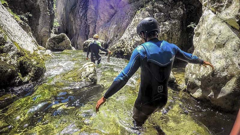 Canyoning Breaks in Catalan Pyrenees