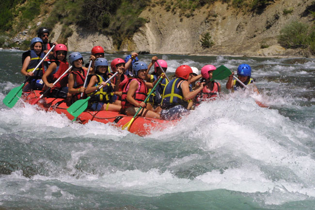 Rafting offers at the best possible price in Aragonese Pyrenees