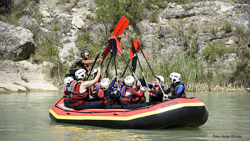 Rafting at the best possible price in Aragonese Pyrenees