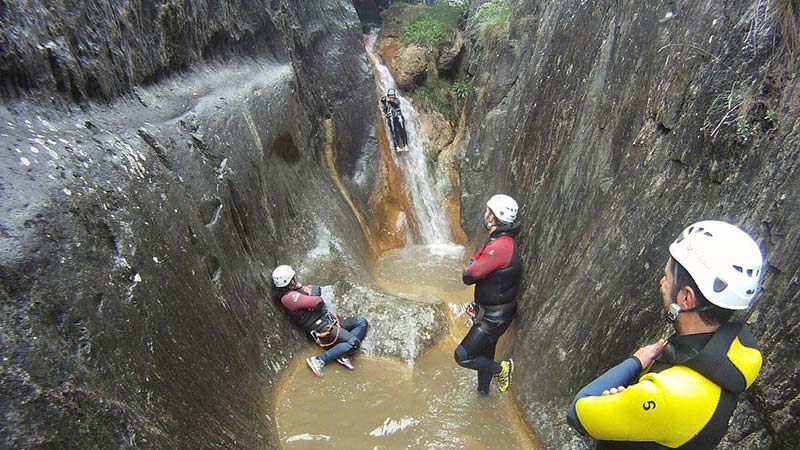 Canyoning escapades in Andorra