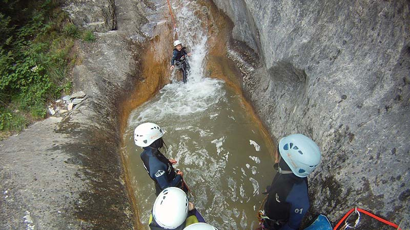 Canyoning adventures in Andorra