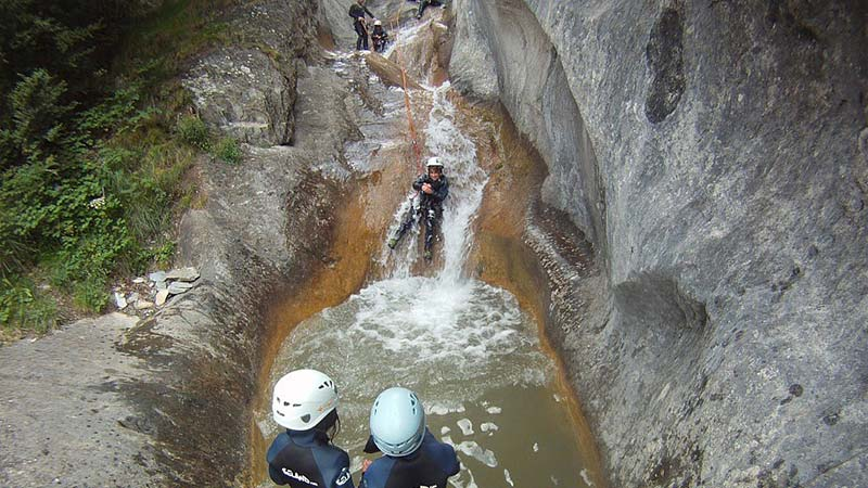 Canyoning in Andorra