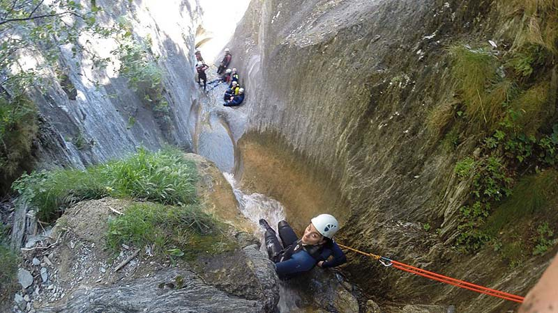 Canyoning at the best price in Andorra