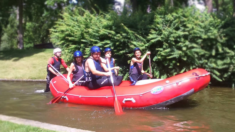 Longs weekends de rafting en Andorre