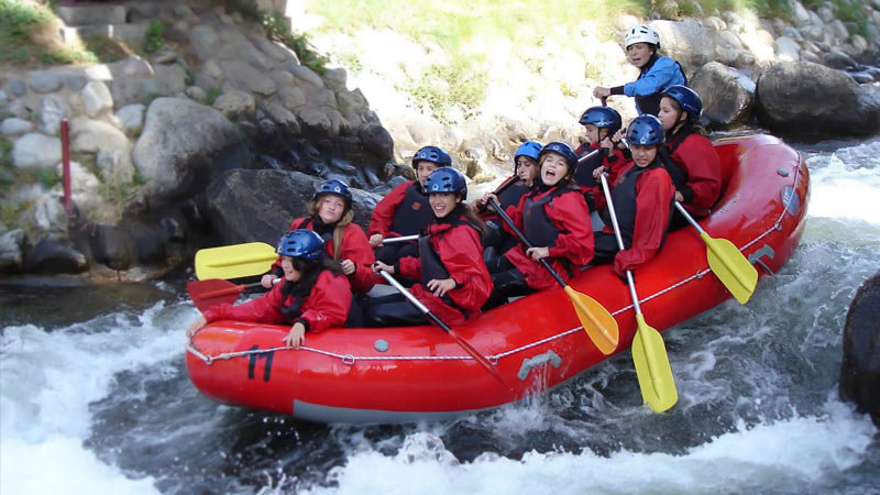Descenso rafting en Andorra