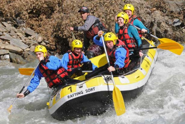 Rafting trips in Catalan Pyrenees