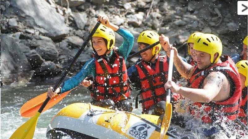 Rafting adventure trips in Catalan Pyrenees