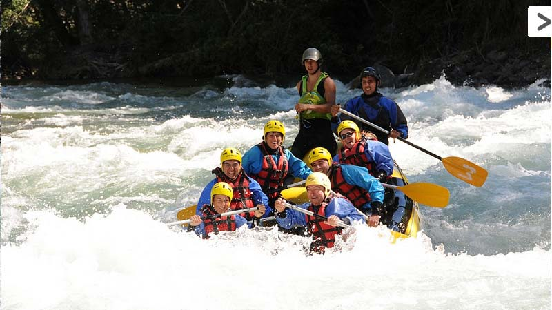 The adventure of rafting in Catalan Pyrenees