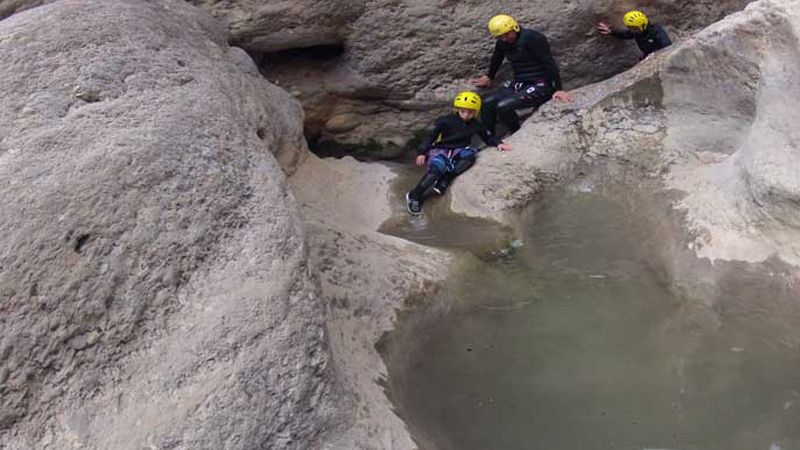 Canyoning Adventure Trips in Rialp Catalan Pyrenees