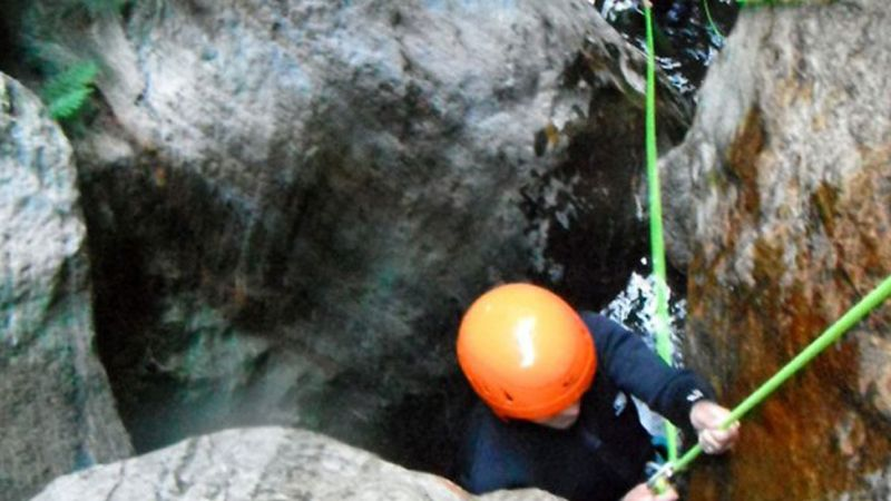 Canyoning Adventure in Catalan Pyrenees