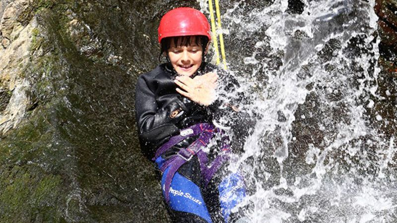 Live the canyoning in Catalan Pyrenees