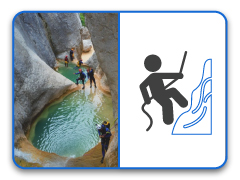Canyoning at Benasque Valley