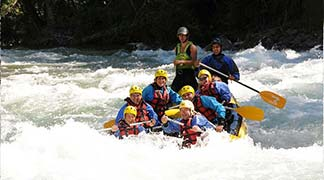 Boí Valley with rafting