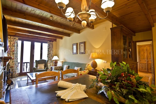 Photos of El Pletiu (apartrent Baqueira 1500) in Baqueira 1500, Spain (7)
